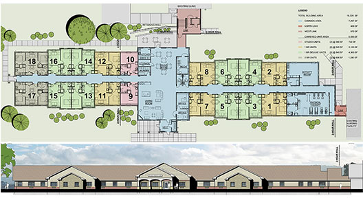 Gallery clarence senior living for House plans for senior living